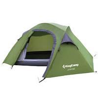 Палатка двухслойная трекинговая, Палатка 2-местная King Camp Adventure 2 alum KT 3047
