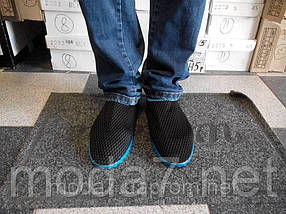 Мужские кроссовки-мокасины сетка, фото 2