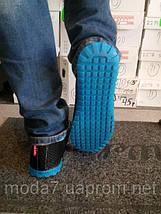 Мужские кроссовки-мокасины сетка, фото 3