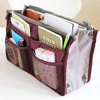 Органайзер для сумки Bag in Bag. Бордовый