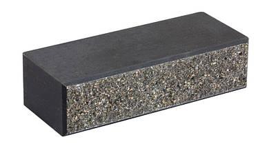 Облицовочный кирпич LAND BRICK колотый серый 250х100х65 мм