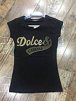 Турецкая футболка Dolce&Gabbana, 2 Цвета