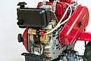 Мотоблок WEIMA WM610Е DeLuxe (дизель 6 л.с., электростарт, колеса 4.00-8), фото 4