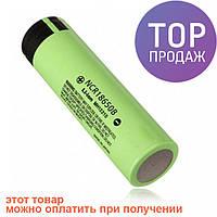 Аккумулятор Li-Ion 4.2V 18650 b 3500mAh MH12210 Green / источник питания
