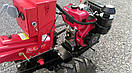 Мотоблок гибрид Булат WM 12ЕR (дизель воздушн. охлаждения, редуктор 12 л.с., электростартер), фото 6