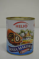 Маковая масса для выпечки Helio 850 г Польша