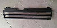 Решетка радиатора под длинное крыло ВАЗ 2108 2109 2199 сток без значка, черная матовая УЦЕНКА