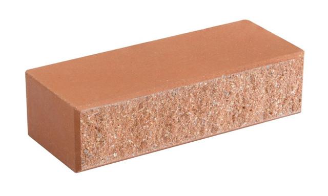 Облицовочный кирпич LAND BRICK колотый персиковый 250х100х65 мм