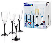Набор бокалов для шампанского Luminarc Domino 170мл 6шт