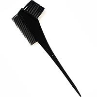 Кисть-расческа для покраски волос двухсторонняя