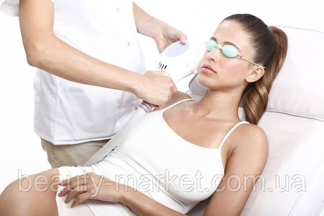 Процедура фотоомоложение кожи.