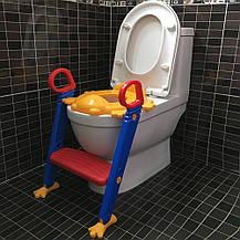 Детское сиденье на унитаз с приставной лестницей Froggie, фото 3