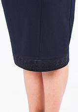 Классическая модная женская юбка с кружевными вставками, фото 3