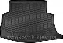 Поліуретановий килимок в багажник Nissan Leaf 2010- (AVTO-GUMM)