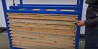 Тележка для производства резиновой плитки