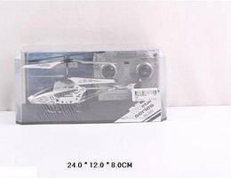 Р/у вертолет аккум 106 (36шт/2) пульт на батар., в кор. 24*12*8 см