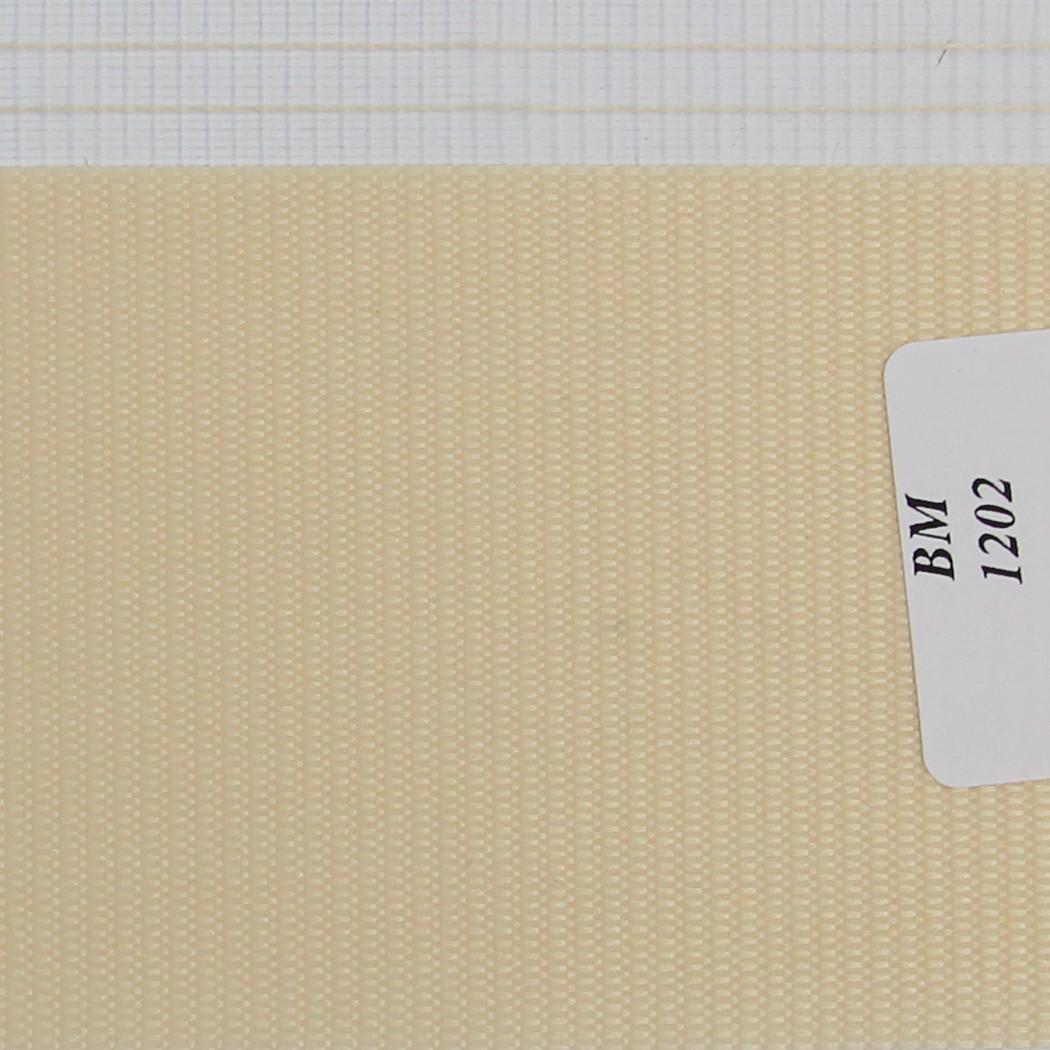 Рулонні штори День-Ніч Тканина Веселка ВМ-1202 Персик