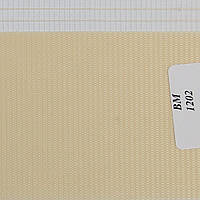 Рулонные шторы День-Ночь Ткань Радуга ВМ-1202 Персик