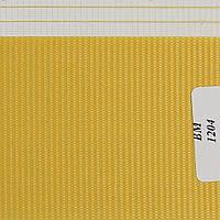 Рулонные шторы День Ночь Ткань Радуга ВМ-1204 Жёлтый