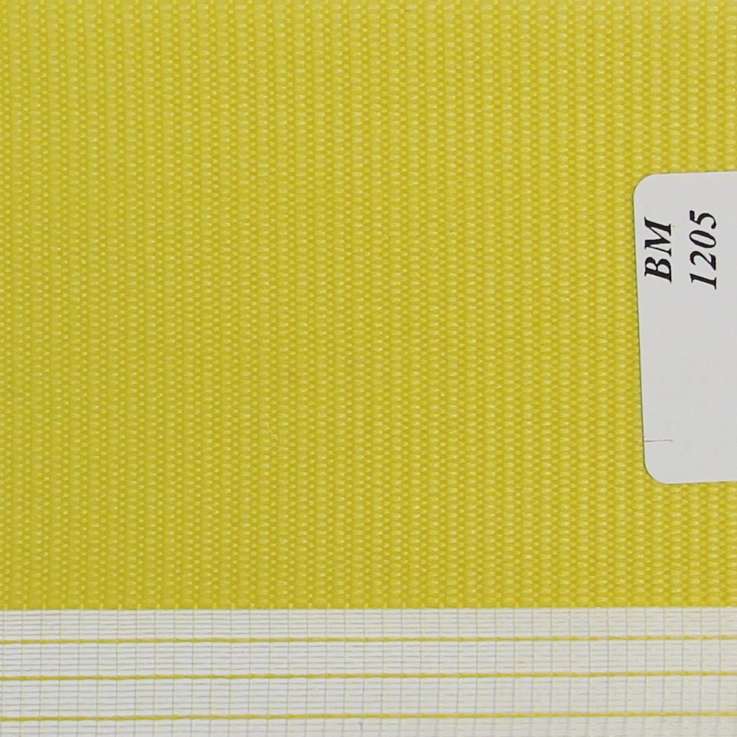 Рулонные шторы День-Ночь Ткань Радуга ВМ-1205 Лайм