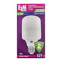 Лампа светодиодная ELM LED TOR 20W PA10 E27 6500K