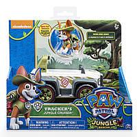 Nickelodeon Paw Patrol Tracker's jungle cruiser ( Щенячий патруль Щенок Трекер и его спасательный джип )
