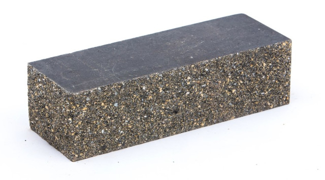 Облицовочный кирпич LAND BRICK колотый ложково-тычковой серый 230х100х65 мм
