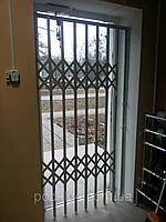 Решетки раздвижные одностворчатые, фото 1