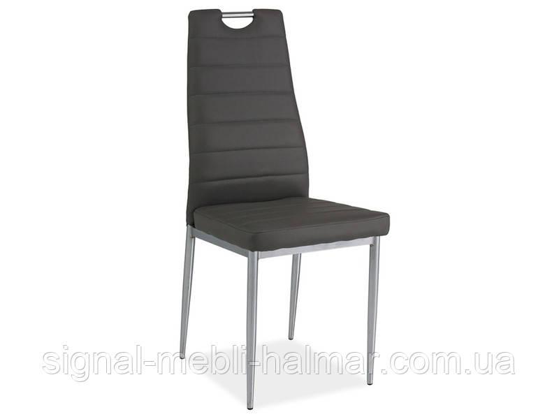 Купить кухонный стул H-260 серый/хром (Signal)