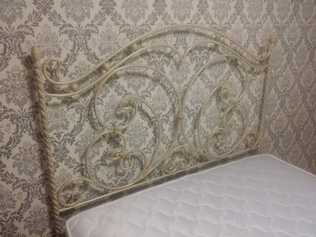 Кованая кровать ручной работы. -1