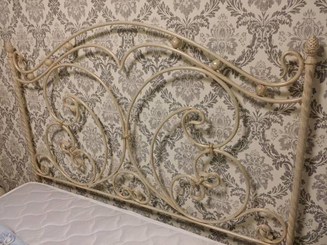 Кованая кровать ручной работы. 4