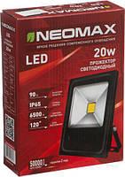 Led Прожектор NEOMAX 20W 220V IP65 6500K