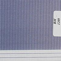 Рулонні штори День-Ніч Тканина Веселка ВМ-1209 Індиго