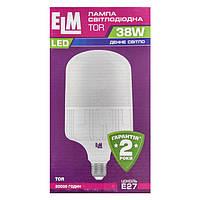 Лампа светодиодная ELM LED TOR 38W PA10 E27 6500K