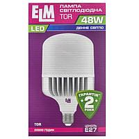 Лампа светодиодная ELM LED TOR 48W PA10 E27 6500K