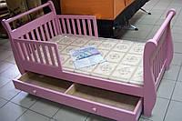 Детская кровать из массива бука Лия
