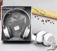 Наушники проводные с микрофоном Gjby GJ-11, White