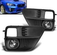 Subaru Impreza WRX и STI 2015-17 противотуманки фары противотуманные решетки в бампер Новые