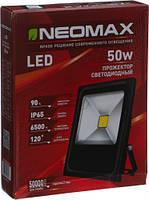 Светодиодный Led Прожектор NEOMAX 50W 220V IP65 6500K, фото 1