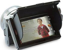 Універсальні захисту LCD екрана з козирком і шторками