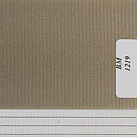 Рулонные шторы День Ночь Ткань Радуга ВМ-1219 Тёмно-серый