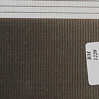 Рулонные шторы День Ночь Ткань Радуга ВМ-1220 Графит
