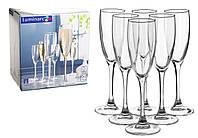 Набор бокалов для шампанского Luminarc Signature 170мл 6шт