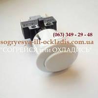 """Кнопка розжига для электроплиты """"Грета """" (""""GRETA"""")(овальная-белая). код сайта:7053"""