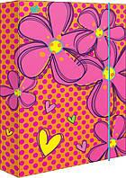 Папка для праці Yes картонна Flowers 491289