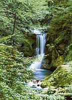 Фотообои из Швейцарии Весенний водопад Код: 364