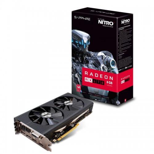 Видеокарта Sapphire Radeon Nitro+ RX 470 8G GDDR5 (11256-02-20G), фото 1