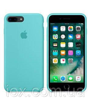 Оригінальний блакитний шкіряний чохол для Iphone 7 Plus