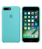 Оригінальний блакитний шкіряний чохол для Iphone 7 Plus, фото 1