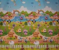 Детский коврик Babypol Веселая ферма